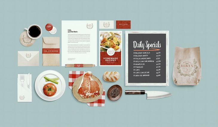 restaurant food identity mockup1