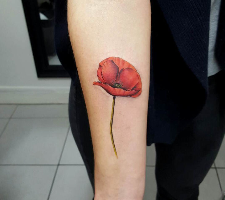 20+ Small Flower Tattoo Designs, Ideas
