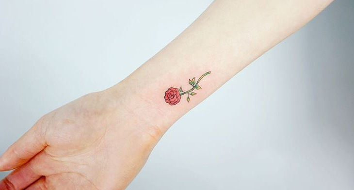 20 Small Flower Tattoo Designs Ideas Design Trends Premium Psd