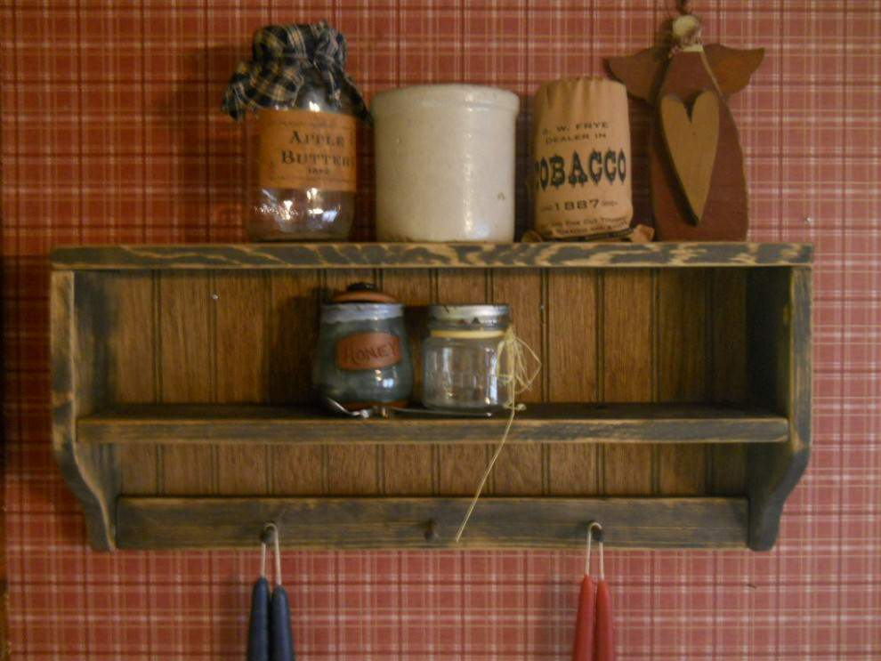 Old Rustic wall shelves