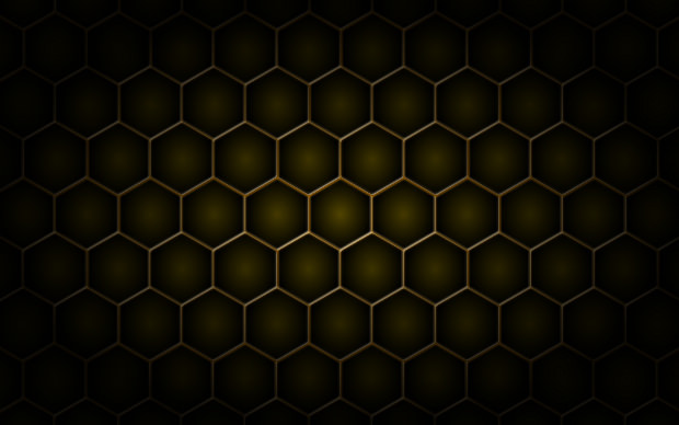chocolate color honeycomb pattern