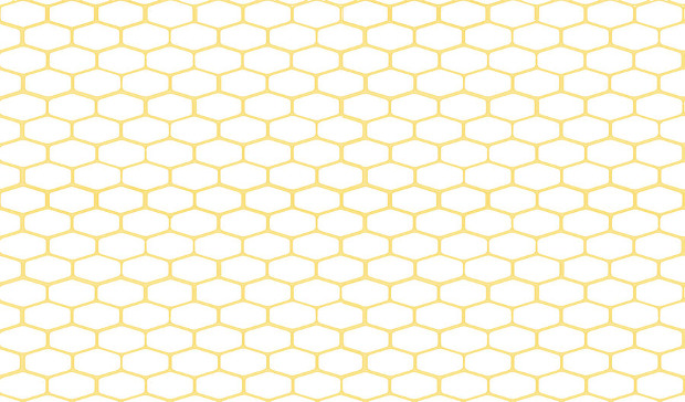 Light Color Honeycomb Pattern