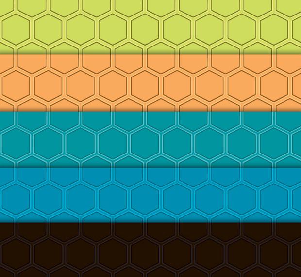 Modern Honeycomb Pattern