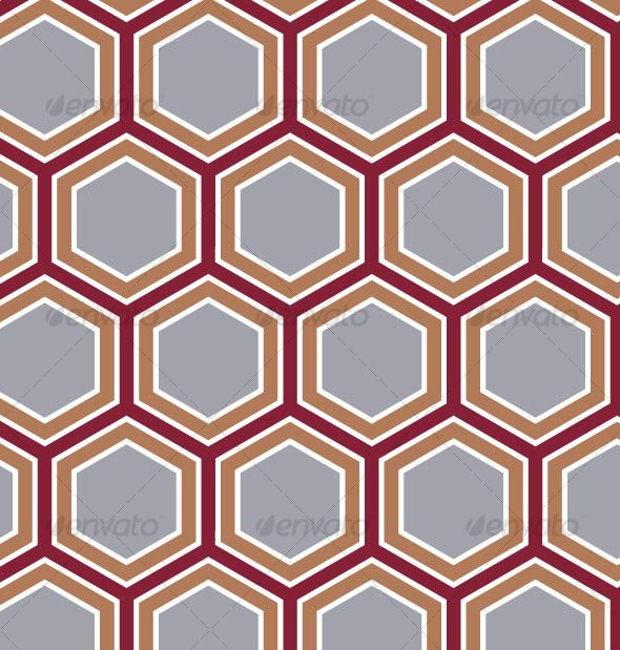Retro Honeycomb Pattern