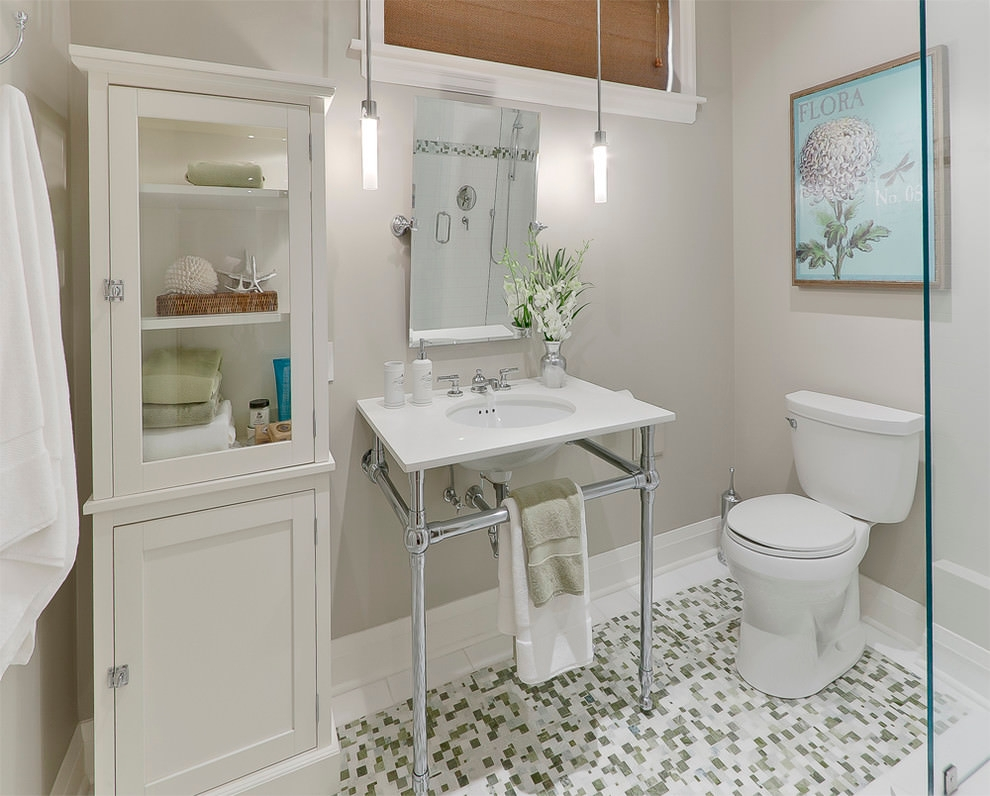 24 basement bathroom designs decorating ideas design for Tiny bathroom decor