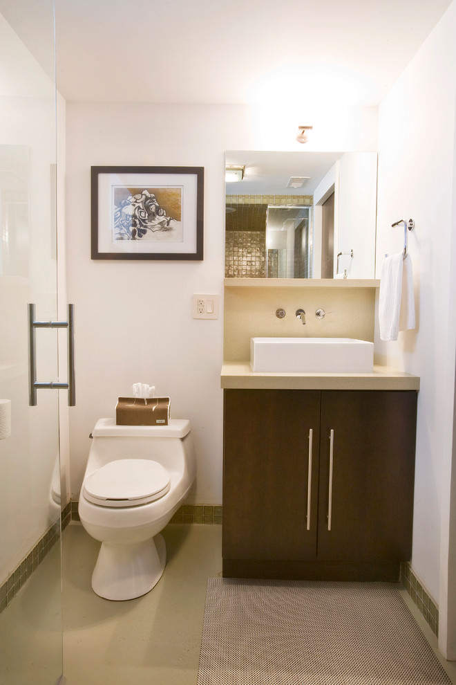 Renovation Modern Basement Bathroom Design