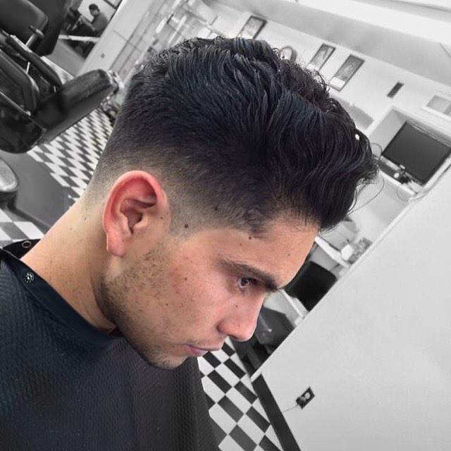 Medium Shadow Fade Haircut