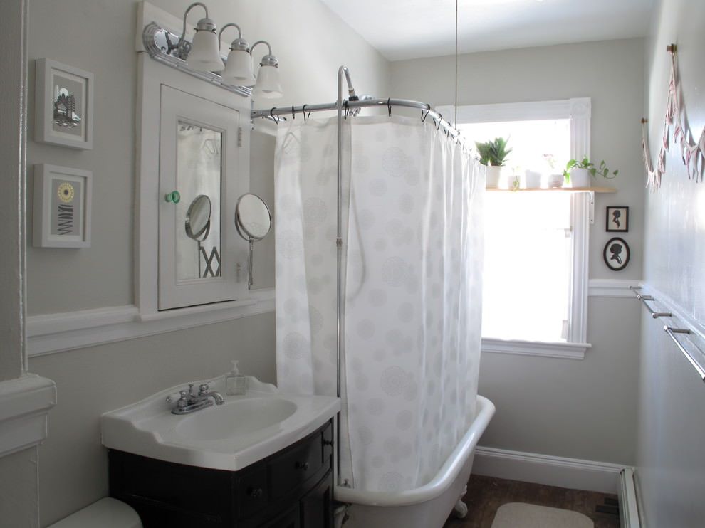 18 Bathroom Curtain Designs Decorating Ideas Design