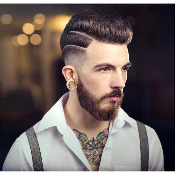 New Medium Fade Haircut Design