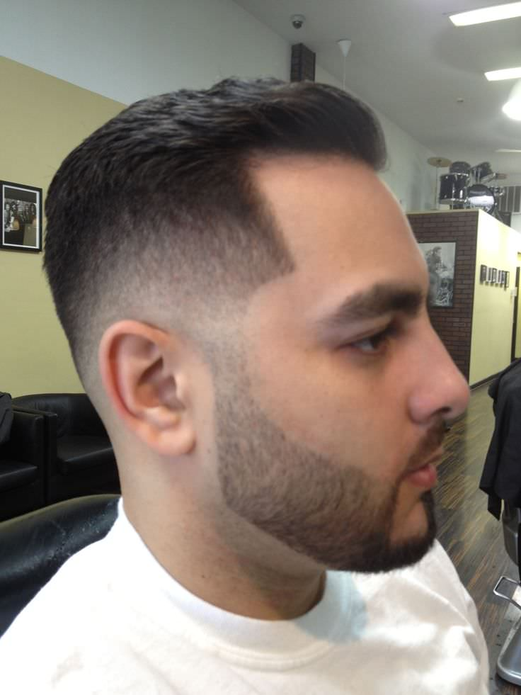 Mid Fade Haircut Design