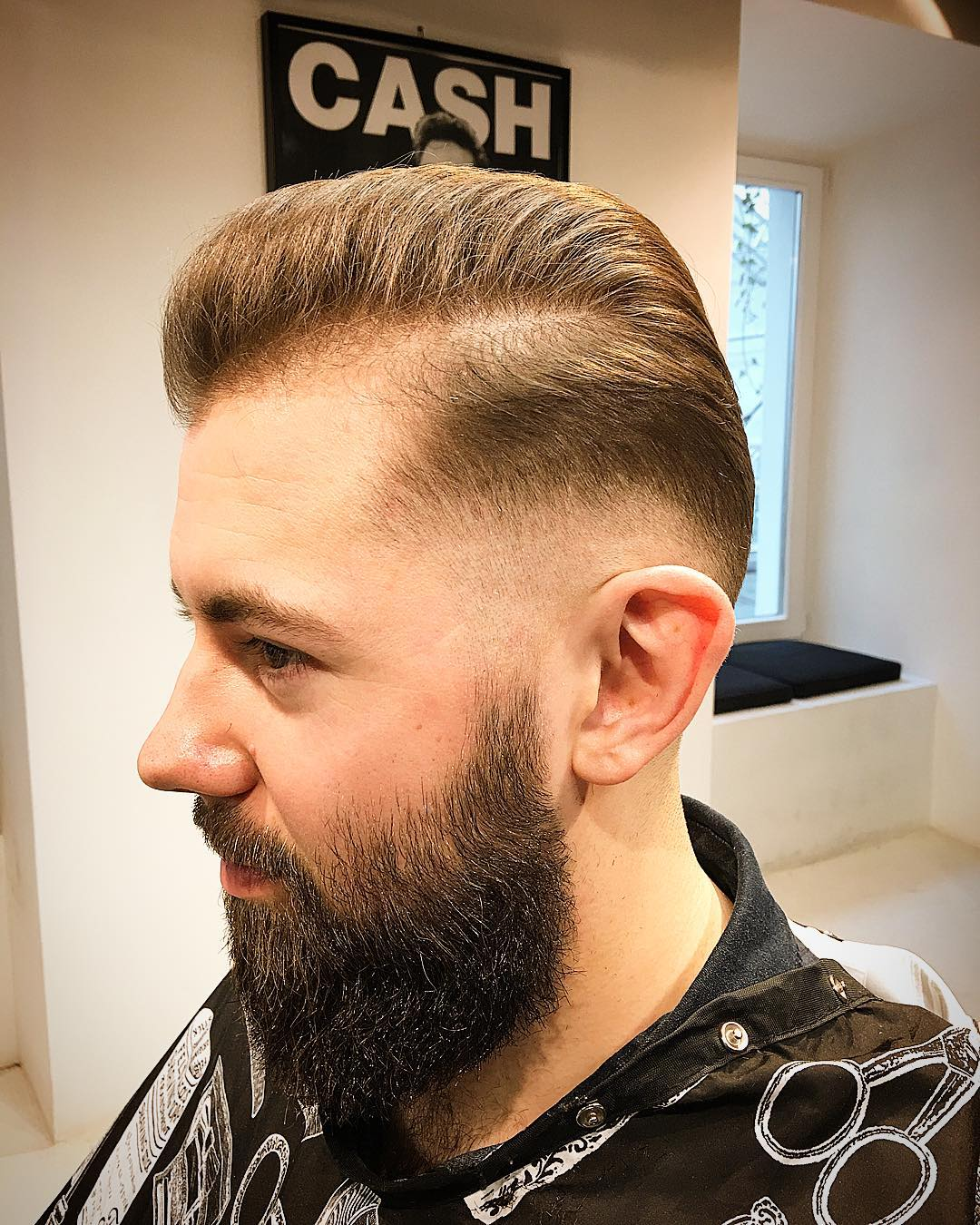 Beautiful Medium Fade Haircut Design