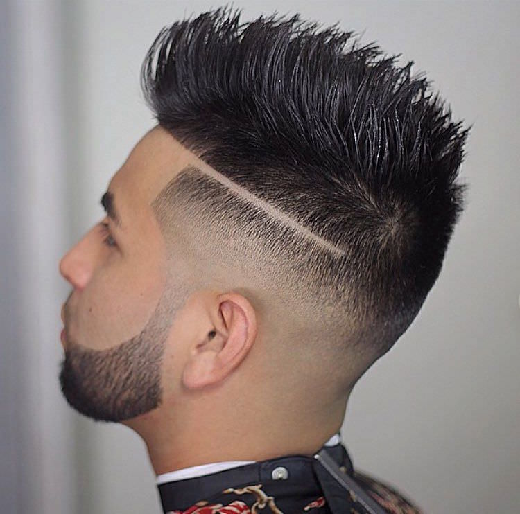 Best Medium Fade Haircut Design