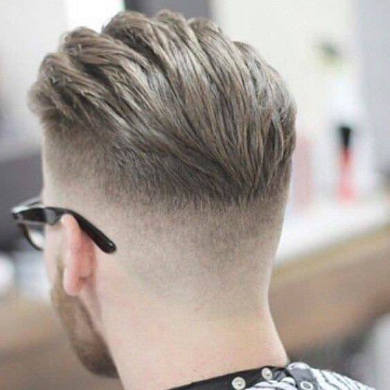 Amazing Medium Fade Haircut Design