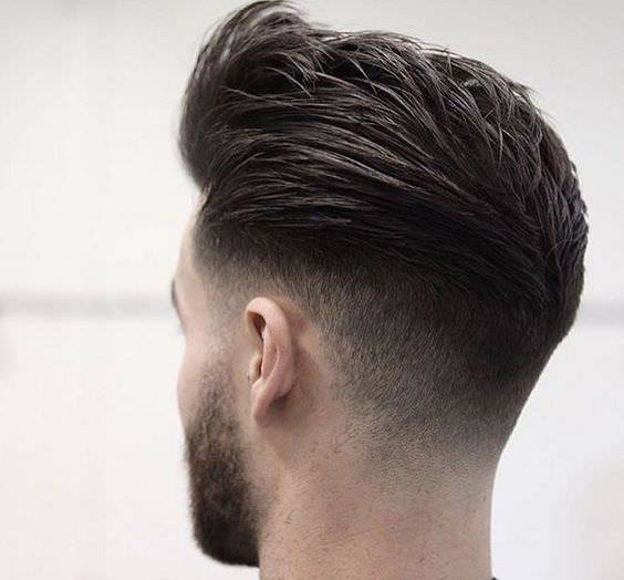 Medium Collection Fade Haircut Design