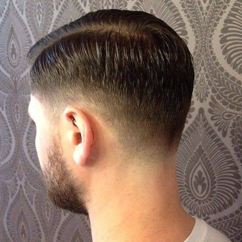 Long Beard Fade Haircut Design