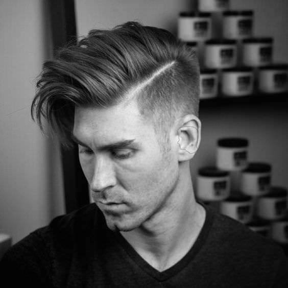 Corte Masculino Long Fade Haircut Design