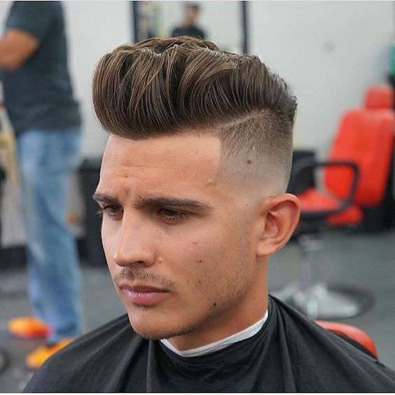 Inspiration Long Fade Haircut Design