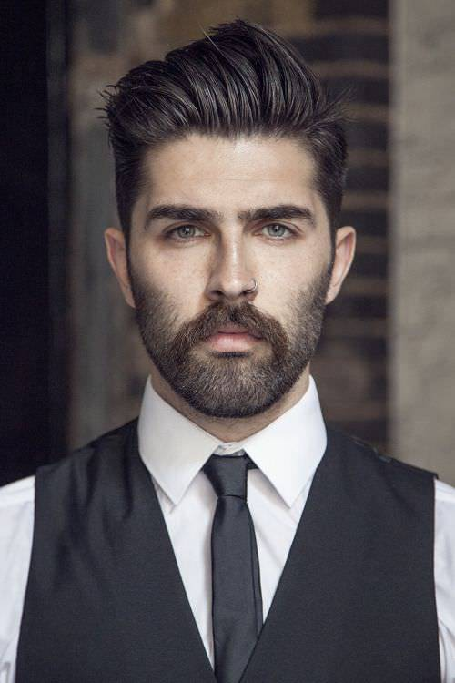Classic Long Fade Haircut Design