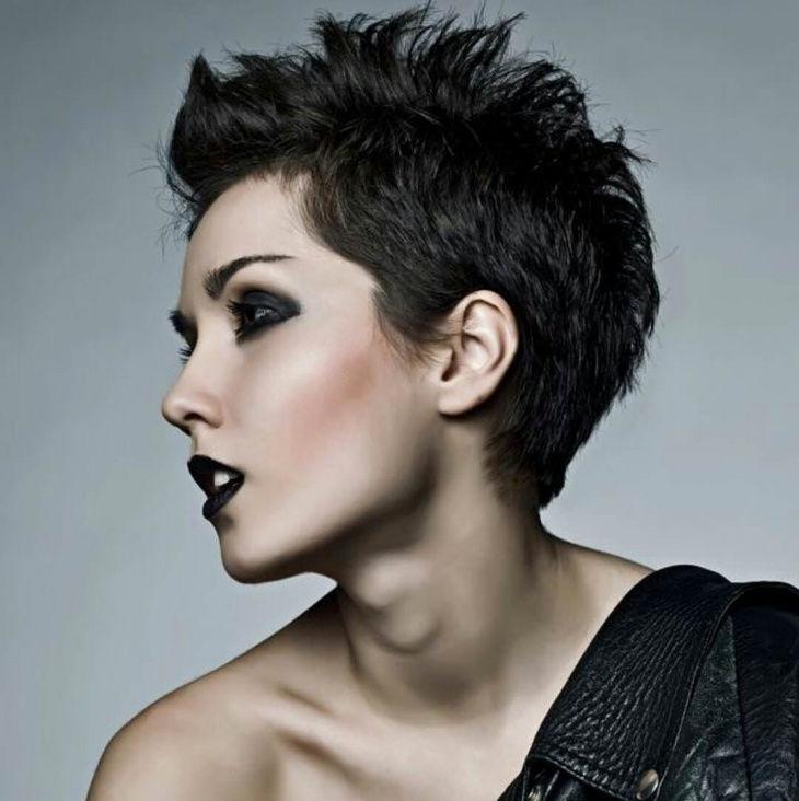 stylish hair cut for model1