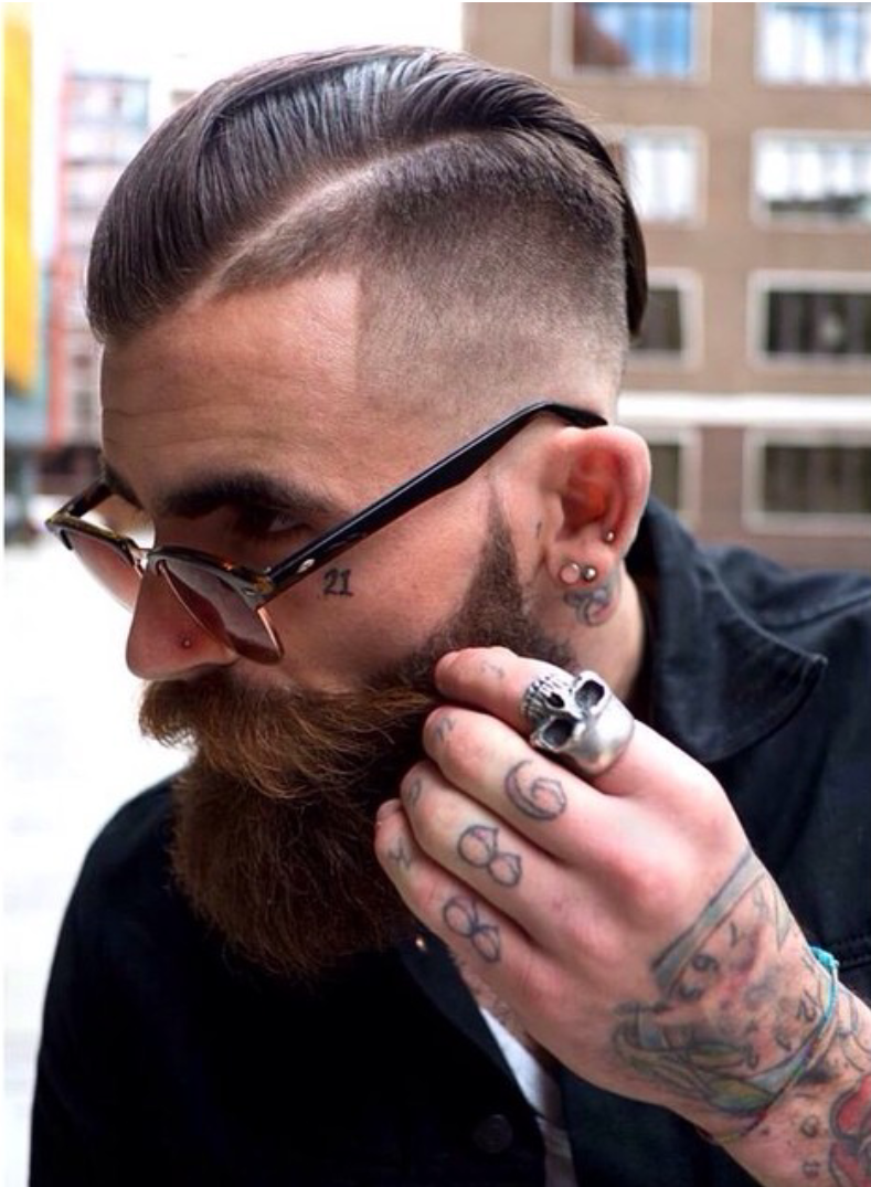 Top Long Fade Haircut Design