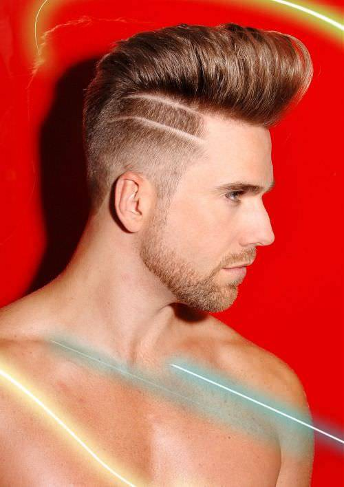 Trend Long Fade Haircut Design