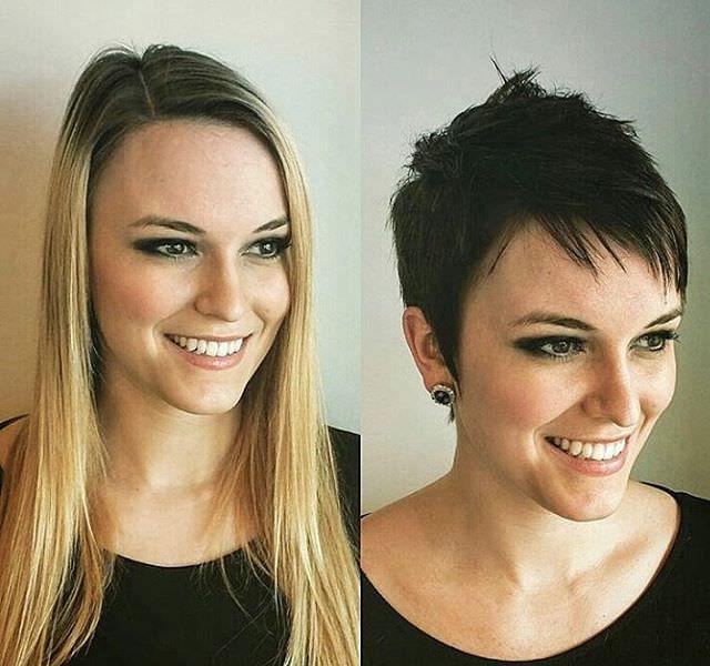Black Short Hair Style