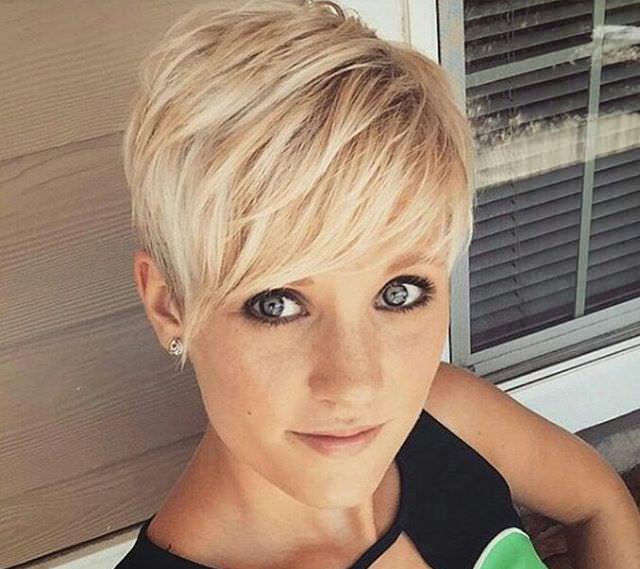 Short Pixie Hair Style