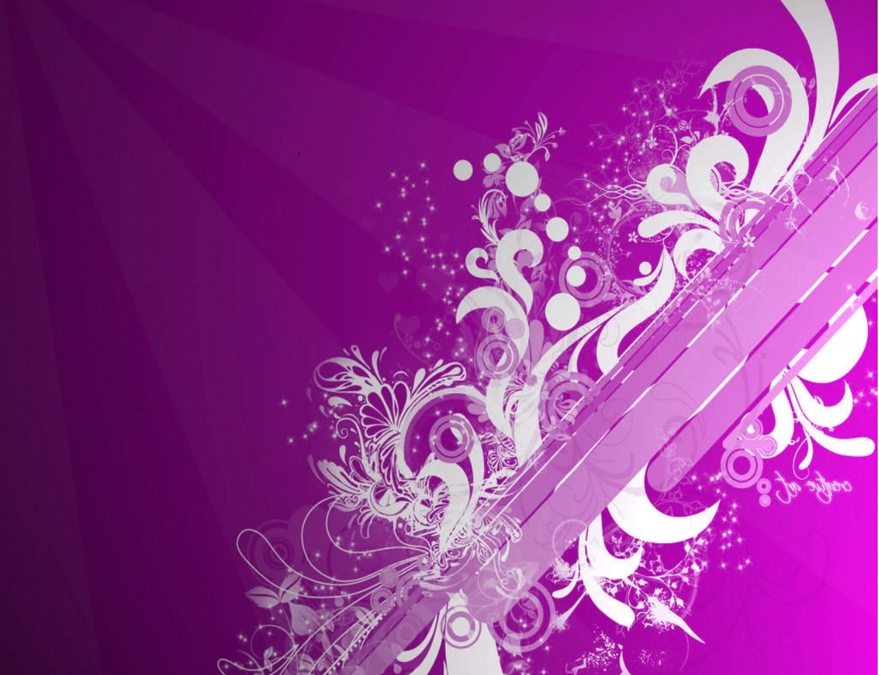 Artistic Swril Vector Background