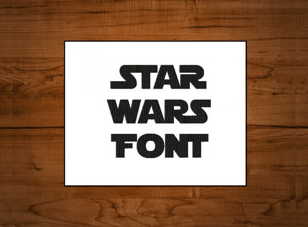 Star Wars Inspired font