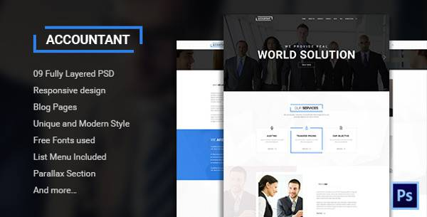 psd bootstrap 3 Template