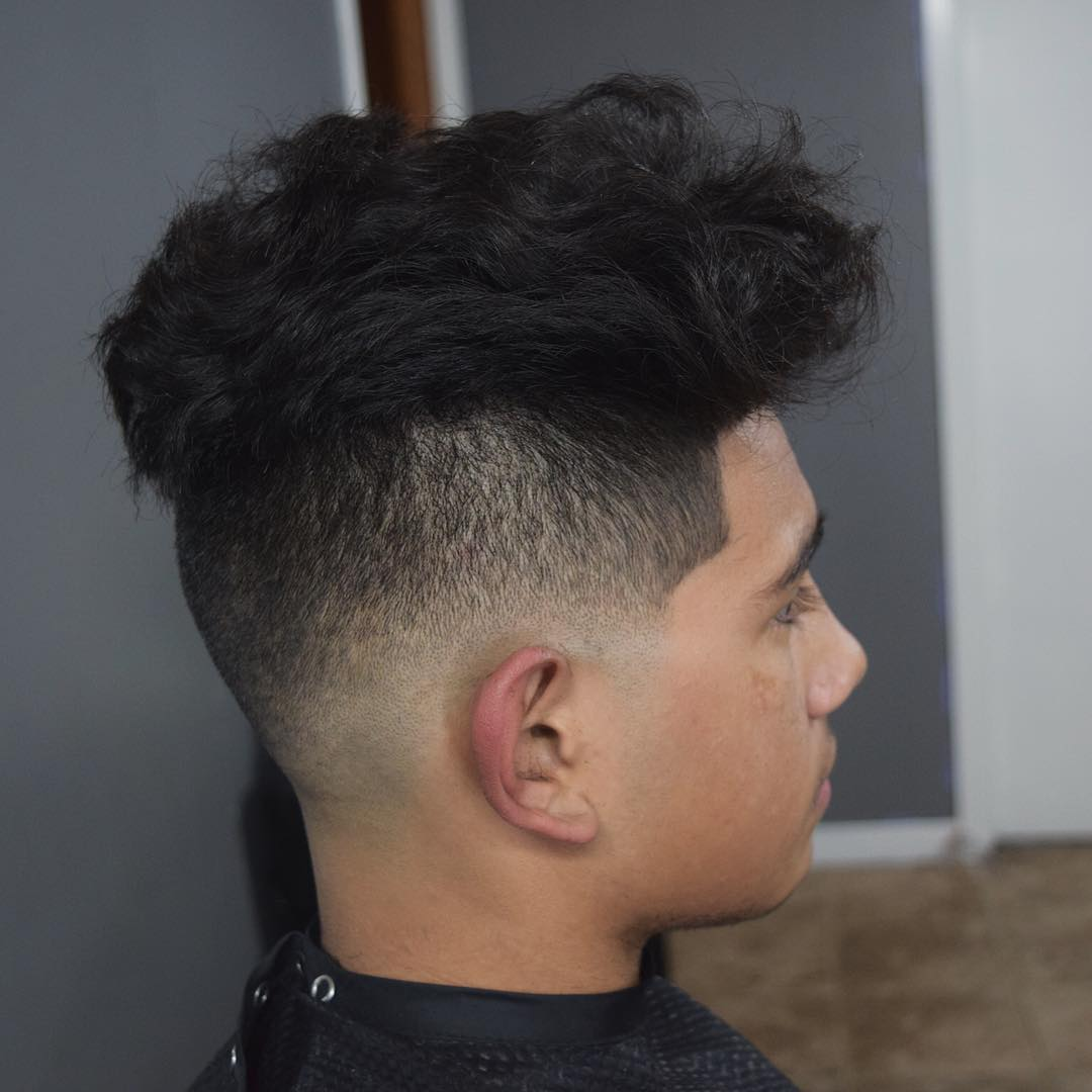 Full Box Fade Haircut Design