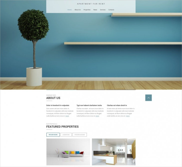 responsive agency website template
