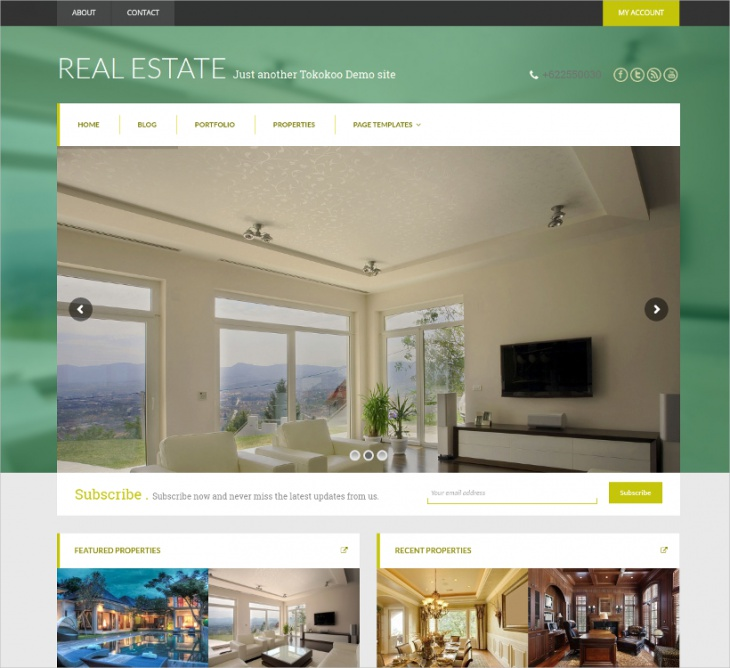 WooCommerce Real Estate Theme