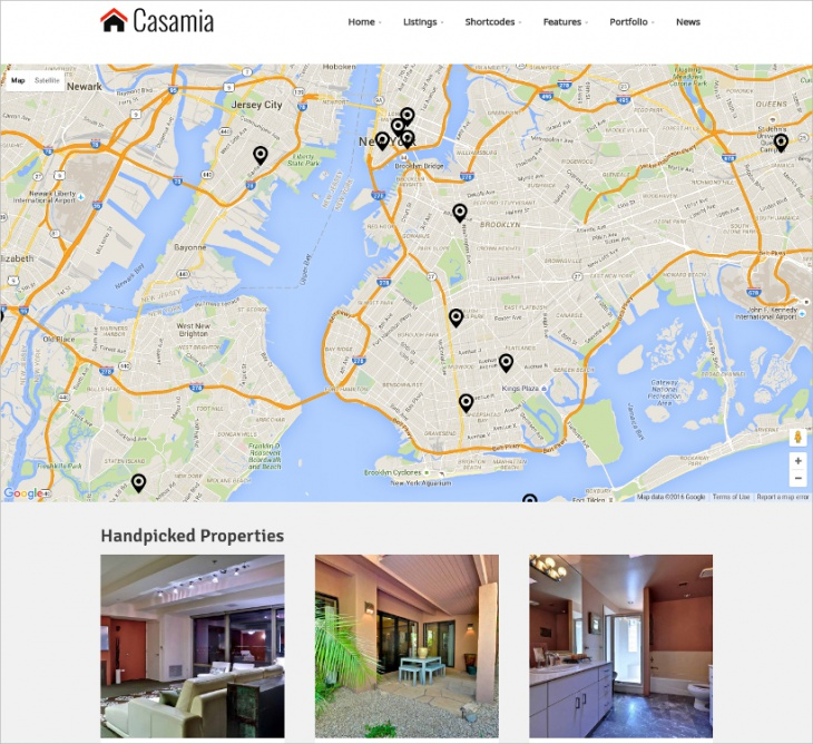 wp real estate agent theme