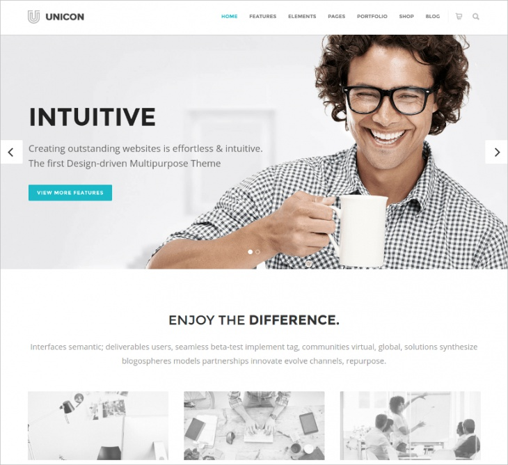 Clean Business Multipurpose Theme