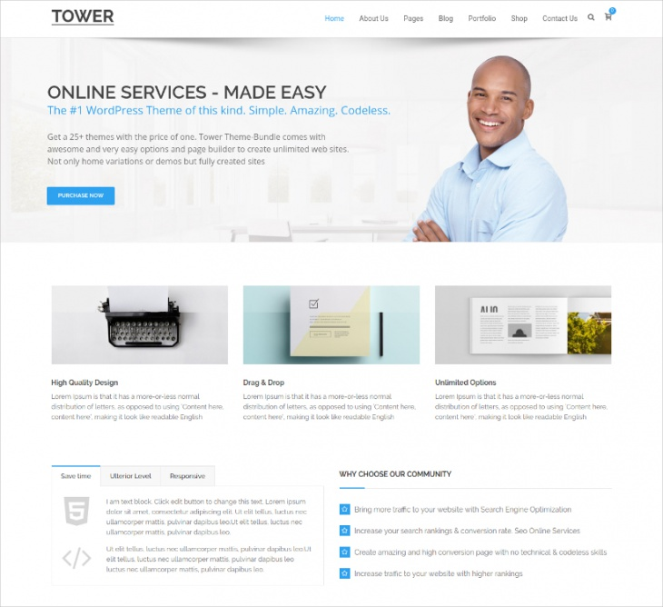 Classic Business WP Theme