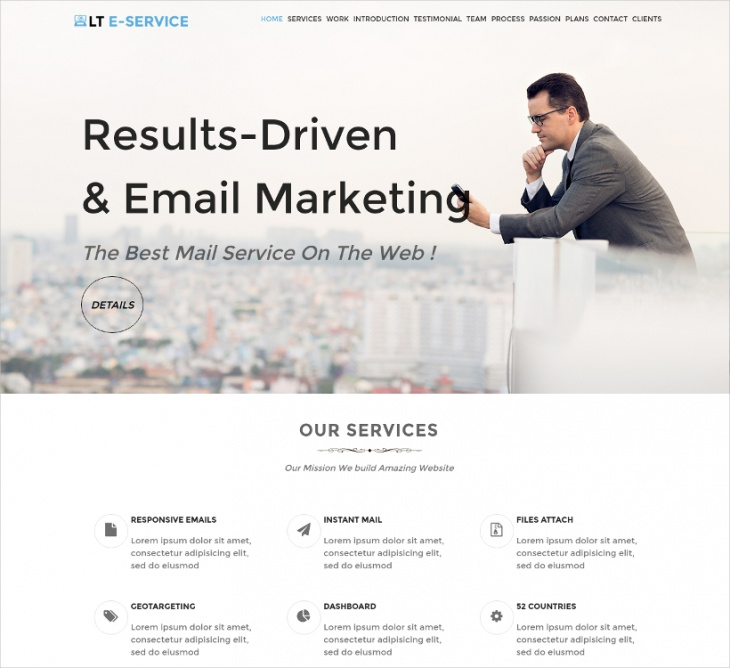 eService WordPress Theme