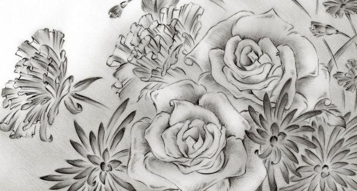 19 Flower Drawings Art Ideas Sketches Design Trends Premium Psd Vector Downloads