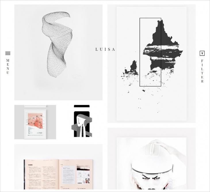 Minimalist Portfolio & Blogging Theme