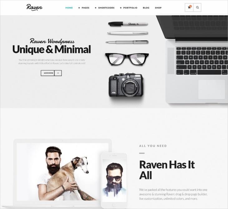 Minimal eCommerce WP Theme