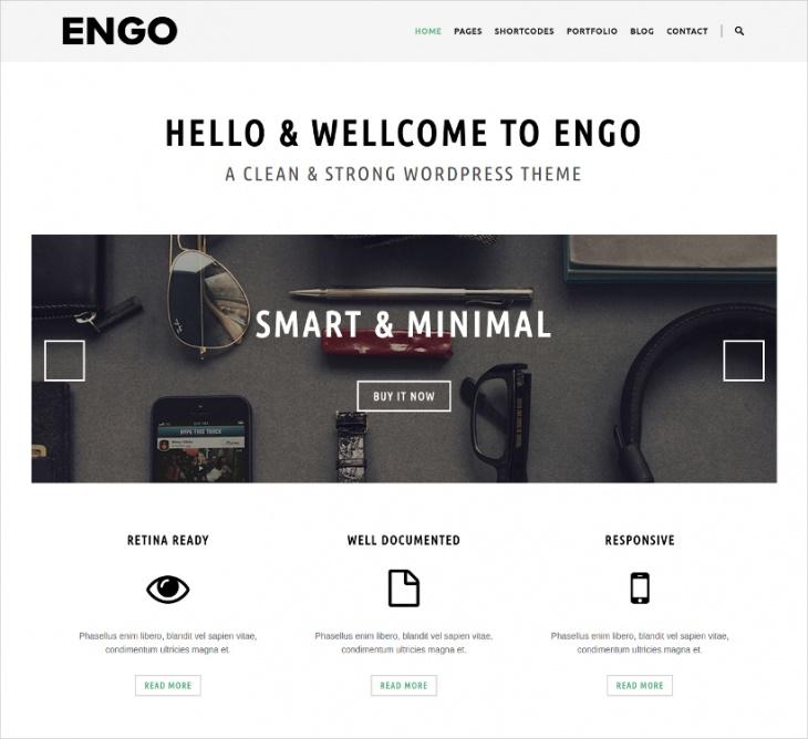 Smart & Minimal WP Theme