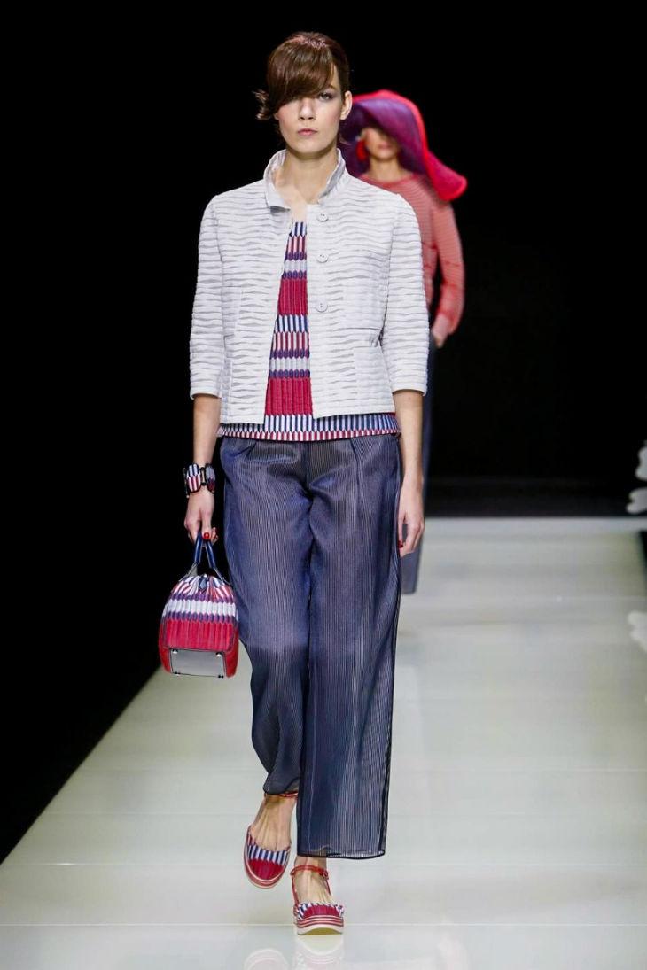 Giorgio Armani Milan Fashion week 2016