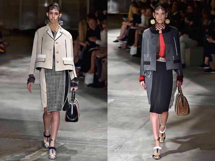 Prada Milan Fashion week