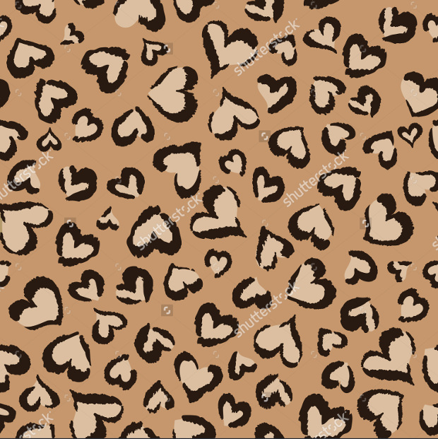 Animal Hearts Pattern