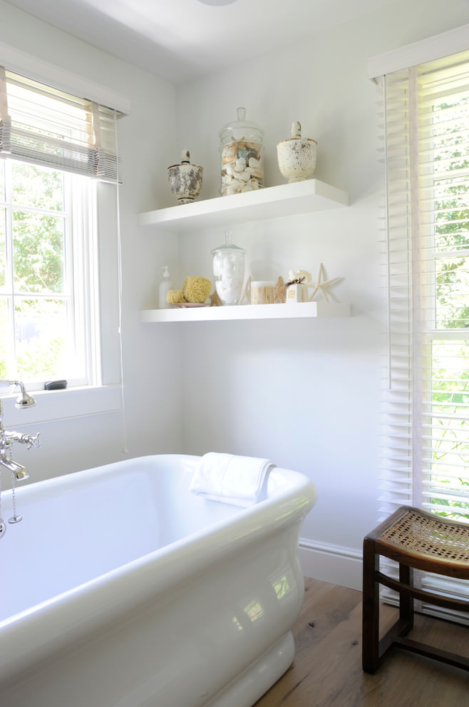 23+ Bathroom Shelf Designs, Decorating Ideas | Design ...