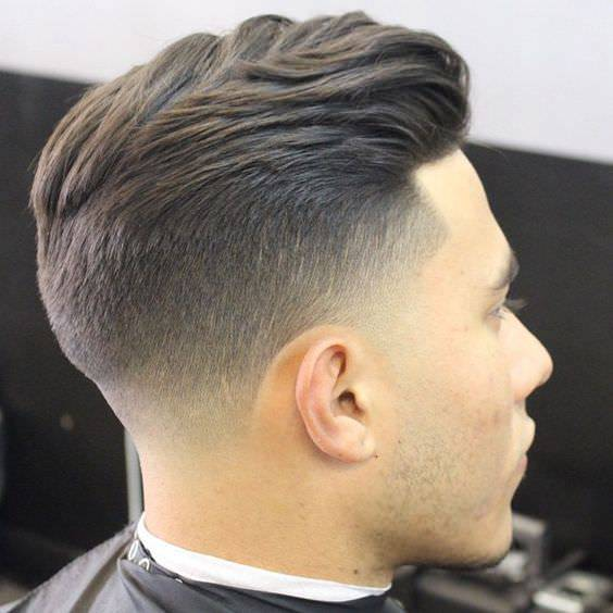 Fade Cut : Long Taper Fade Haircuts For Men Printable Long Medium Short ...