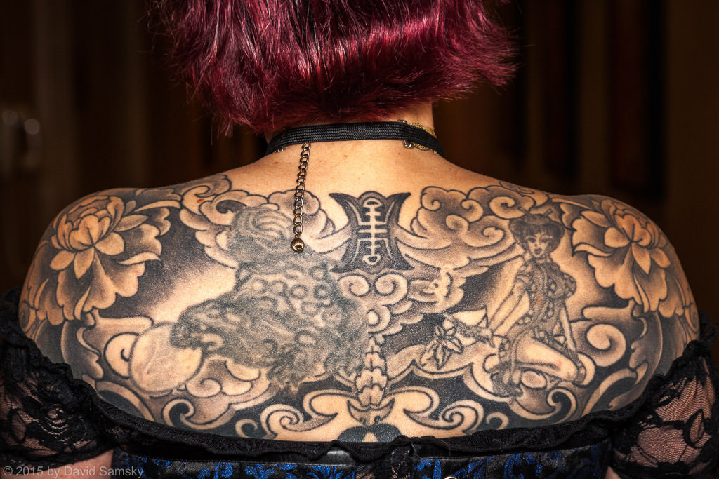 Stylish Design Steampunk Tattoo