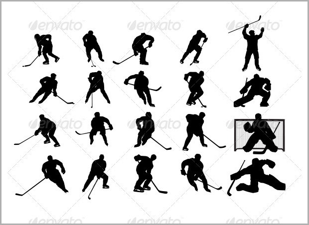 Field Hockey player Icon
