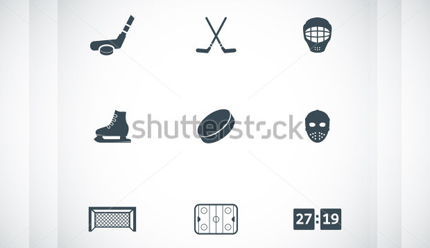 Pack of Hockey Equipments