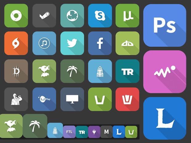 Rocketdock Icons Pack